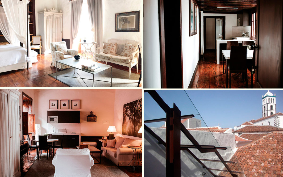 Апарт-отель Isla Baja Suites в городе Гарачико на севере острова Тенерифе (Канарские острова, Испания)