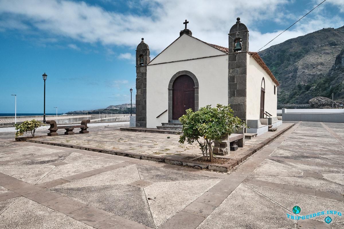Часовня Ermita de San Roque в городе Гарачико на севере острова Тенерифе (Канарские острова, Испания)