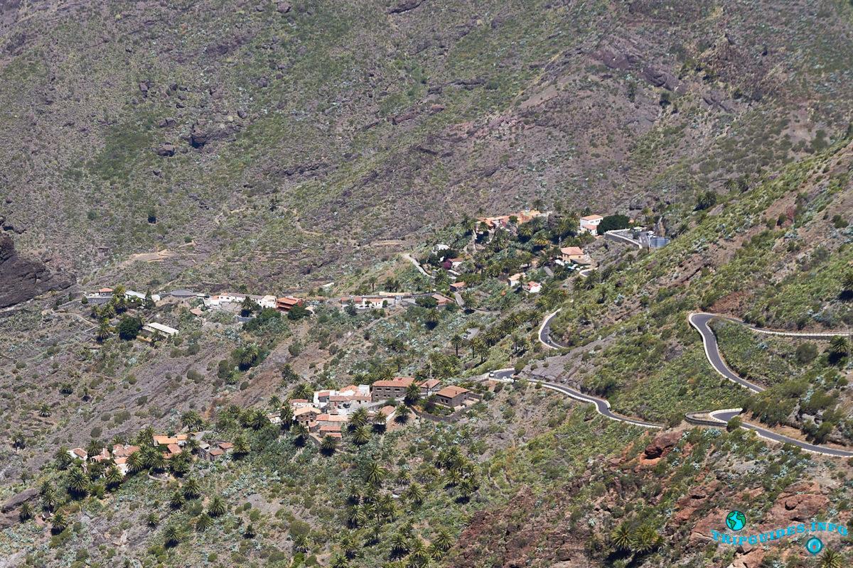 Деревня - Маска на Тенерифе - Канарские острова, Испания
