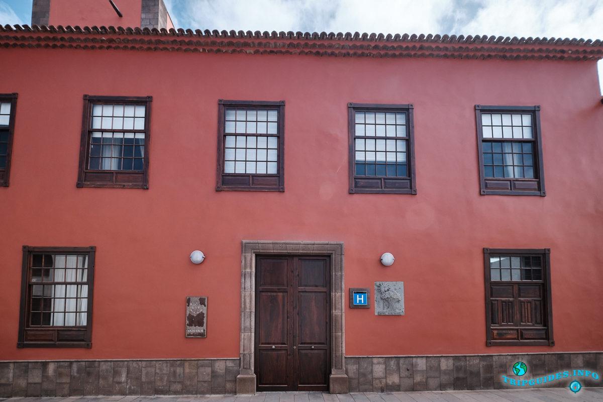 Дом Кристобаля Понте — основателя города Гарачико на севере Тенерифе