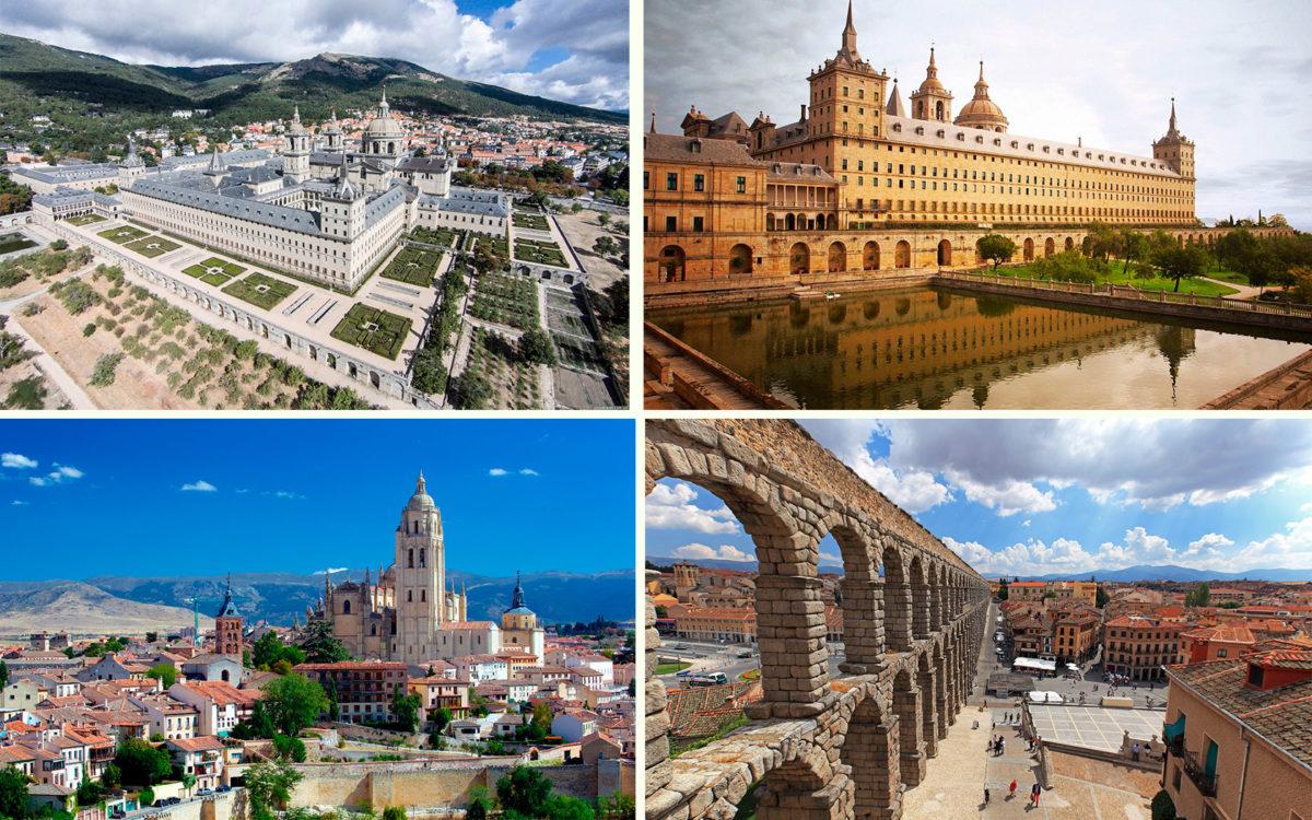 Экскурсия с гидом в Эскориал и Сеговия из Мадрида, столицы Испании