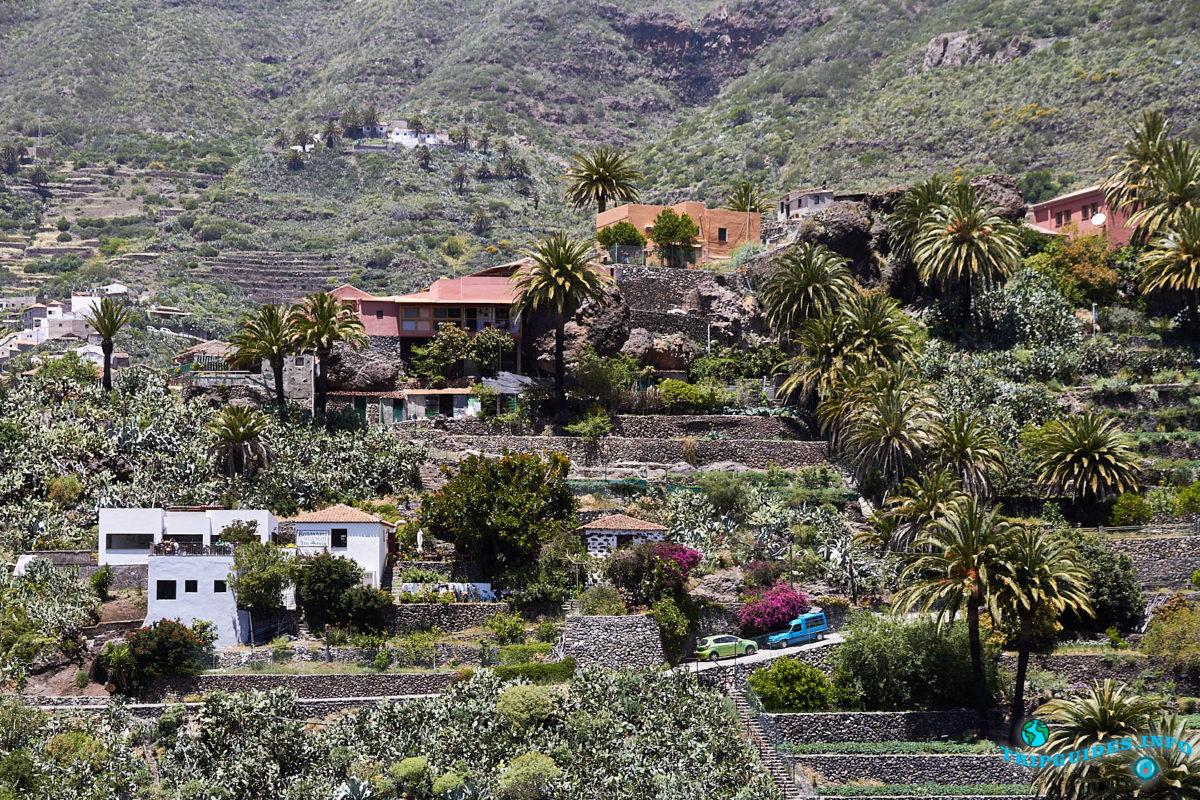 Кварталы в деревне Маска на Тенерифе