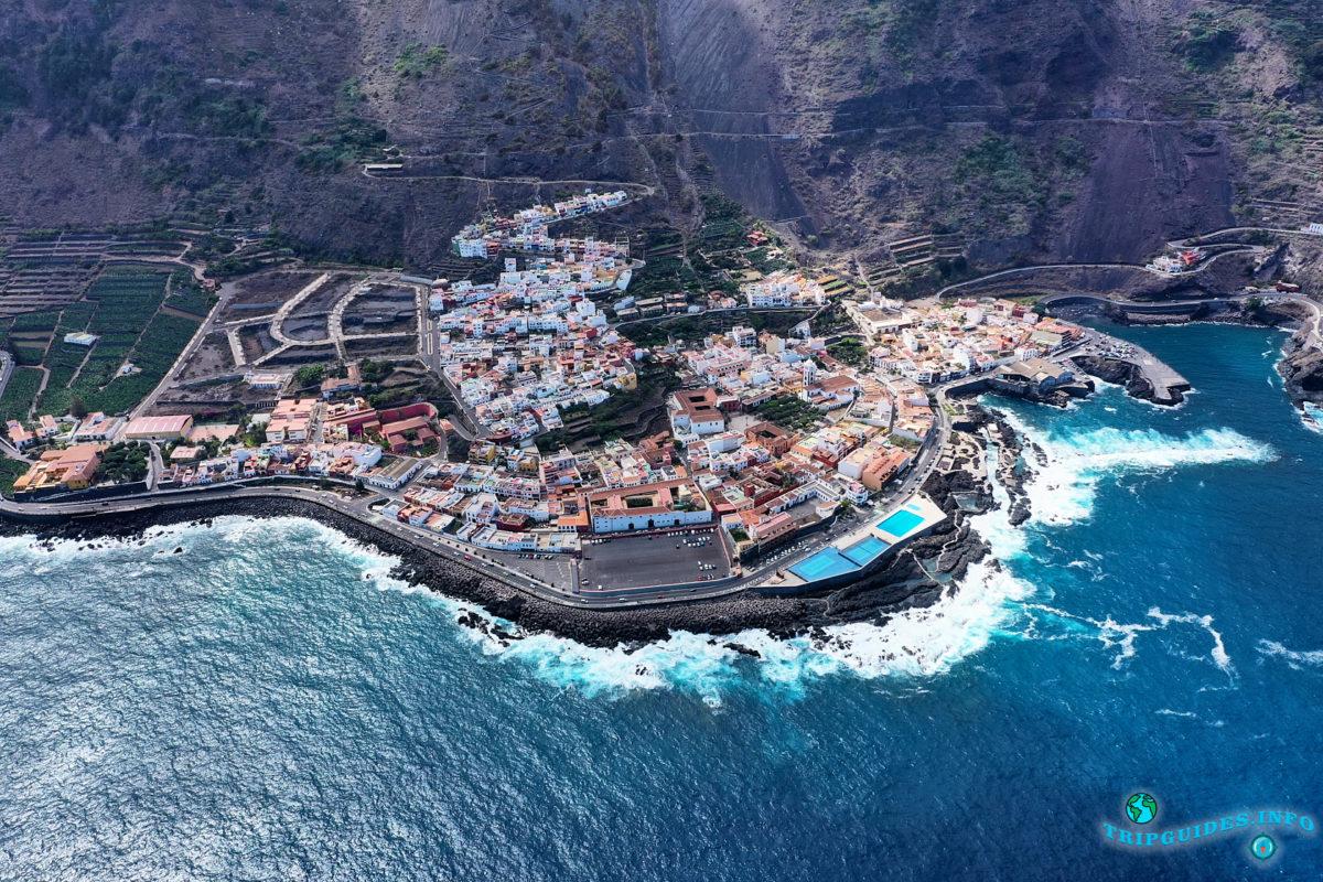 Гарачико - город на севере острова Тенерифе (Канарские острова, Испания)