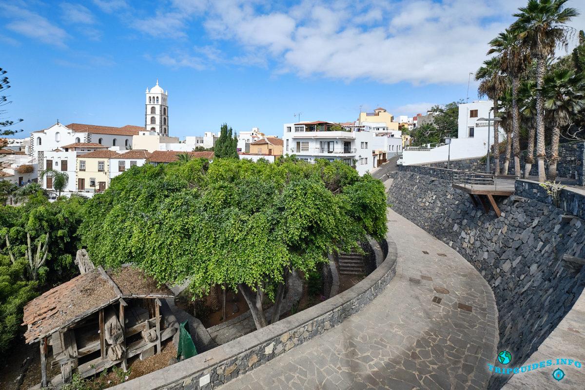 Гарачико - город на севере Тенерифе (Канарские острова, Испания)
