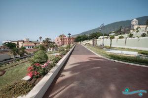 Сады маркиза Кинта Роха или Сады Виктория в Ла-Оротава на Тенерифе - Канарские острова, Испания