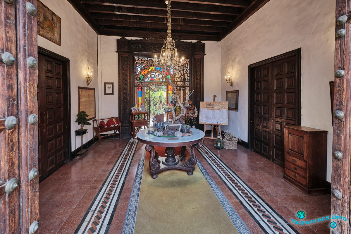 Дом Леркаро в Ла-Оротава на Тенерифе - Канарские острова, Испания