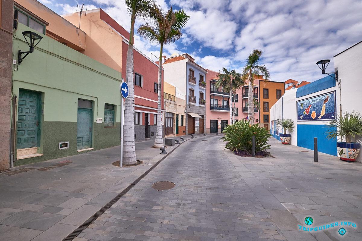 Новый год на Тенерифе - город Пуэрто-де-Ла-Крус - старинные улочки