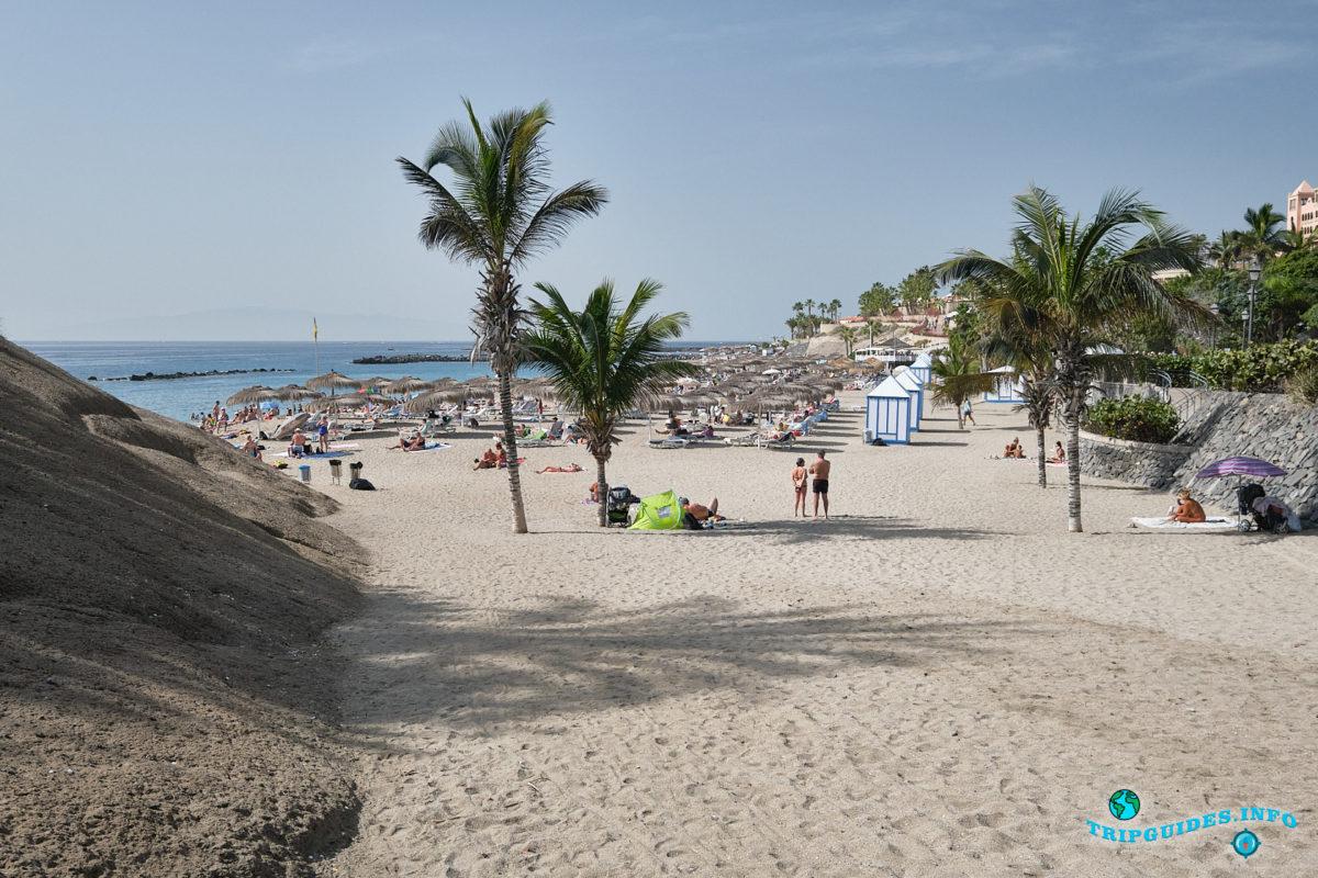 Новый год на Тенерифе - курорт Коста Адехе - Пляж Плайя-дель-Дуке