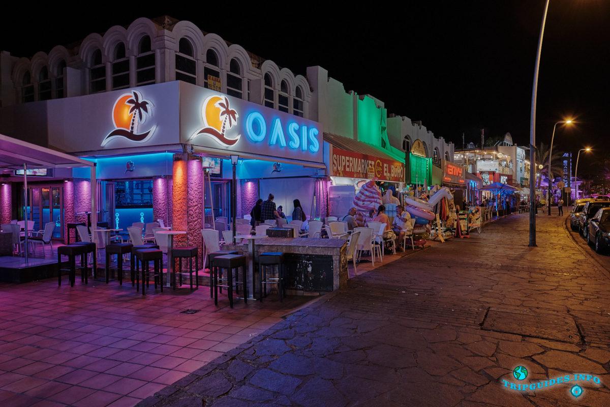 Новый год на Тенерифе - курорт Плайя-де-Лас-Америкас - Ночные клубы, дискотеки в Лас-Вероникас