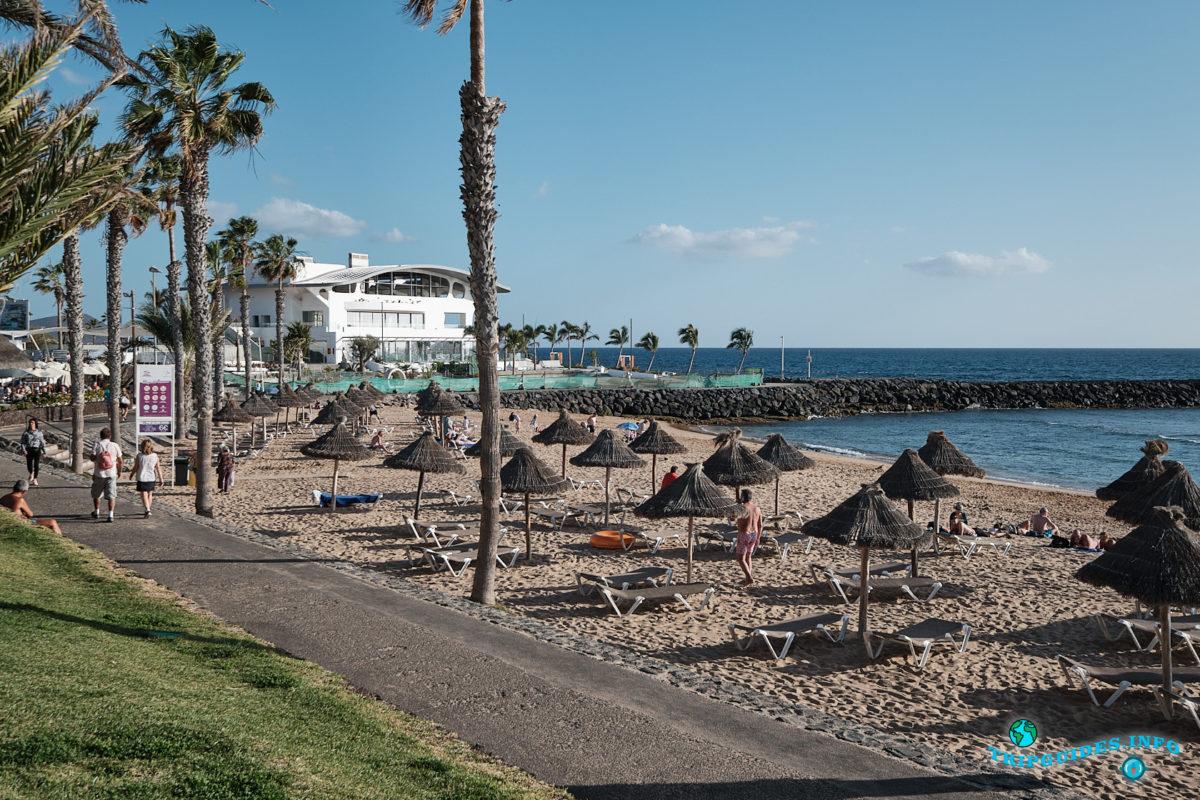 Новый год на Тенерифе - курорт Плайя-де-Лас-Америкас - Пляж Эль-Камисон