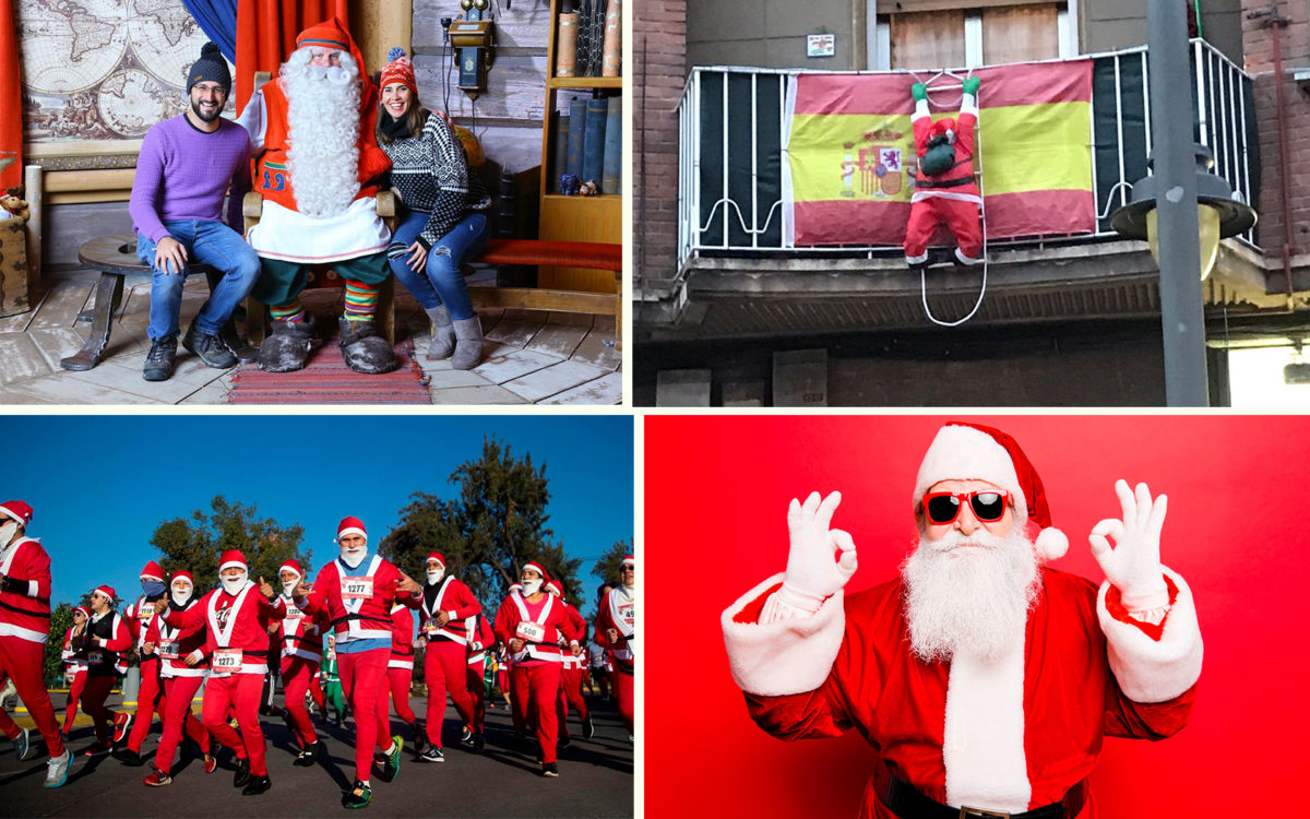 Новый год на Тенерифе - Папа Ноэль и Санта Клаус