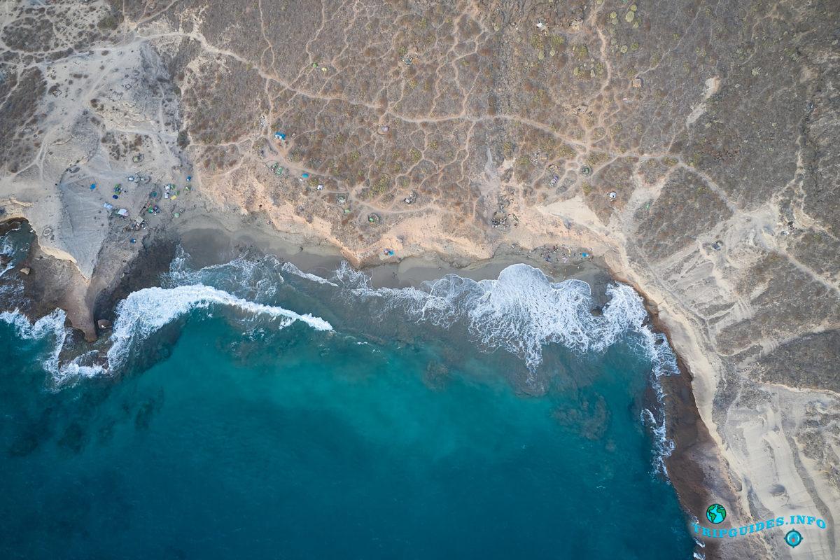 Новый год на Тенерифе - Пляж Диего-Эрнандес