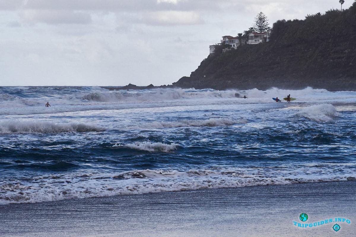 Новый год на Тенерифе - Пляжи на севере