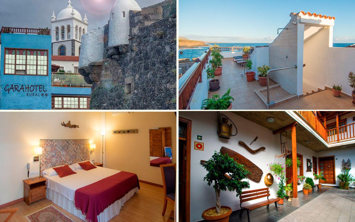 Отель Gara 4* в городе Гарачико на севере острова Тенерифе (Канарские острова, Испания)