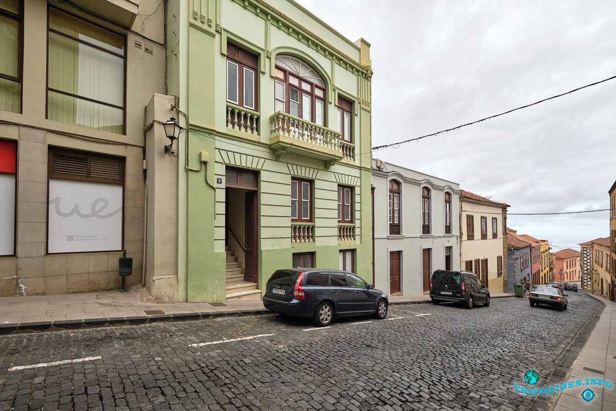 Пансионат - Pensión Silene Orotava в Ла-Оротава на Тенерифе