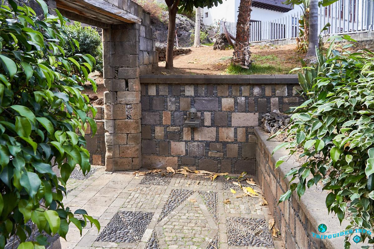Парк Пуэрта-де-Тиерра – центр интерпретации в городе Гарачико на севере острова Тенерифе (Канарские острова, Испания)