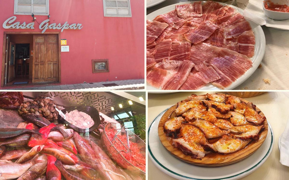 Ресторан Casa Gaspar в городе Гарачико на севере острова Тенерифе (Канарские острова, Испания)
