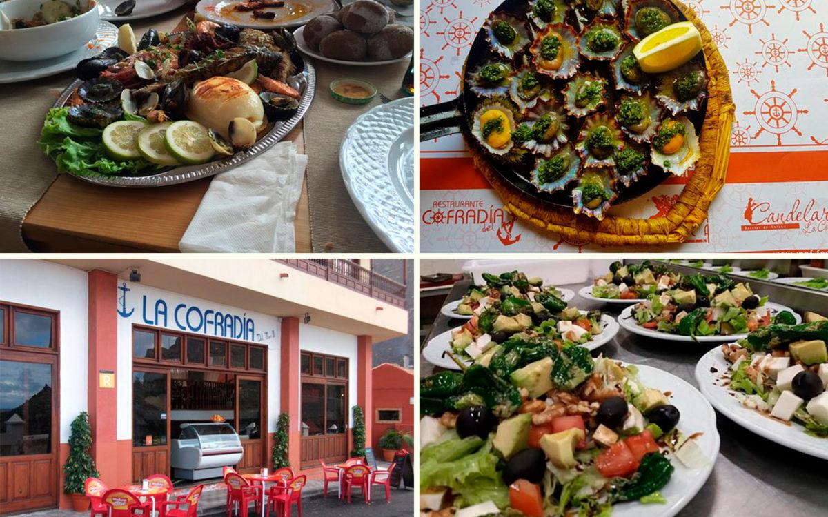 Ресторан La Cofradía del Mar в городе Гарачико на севере острова Тенерифе (Канарские острова, Испания)