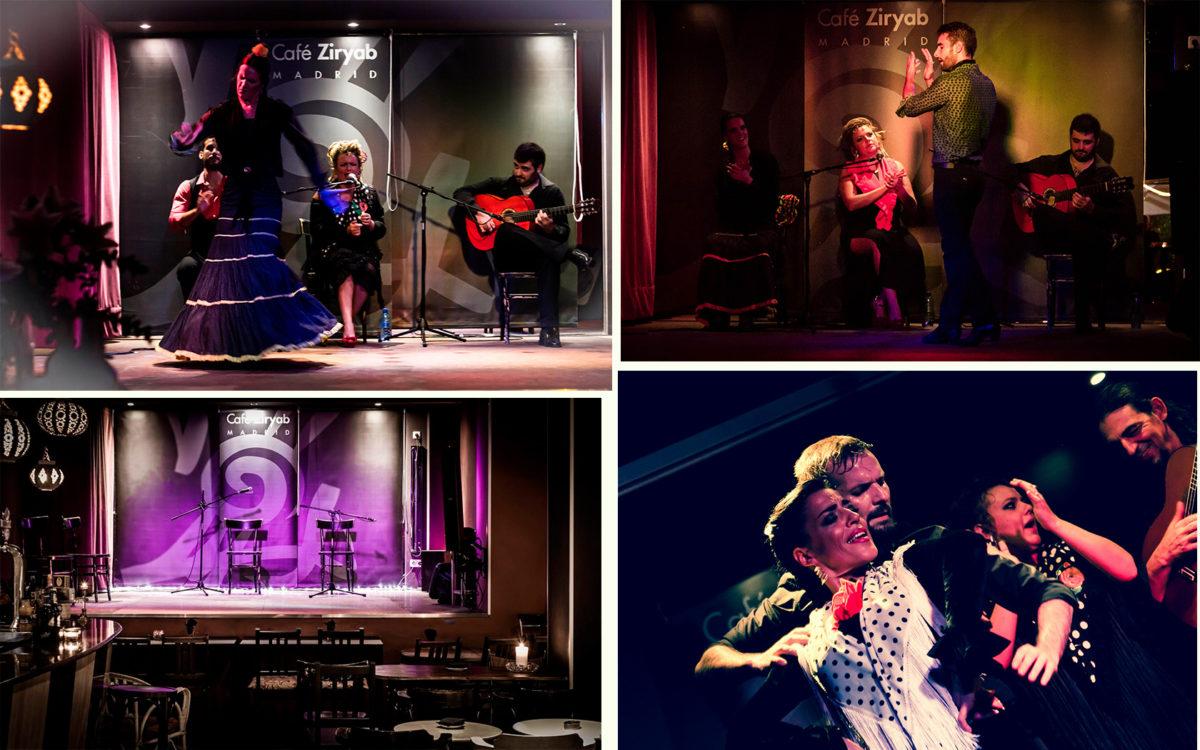 Шоу фламенко в Café Ziryab - Мадрид, столица Испании
