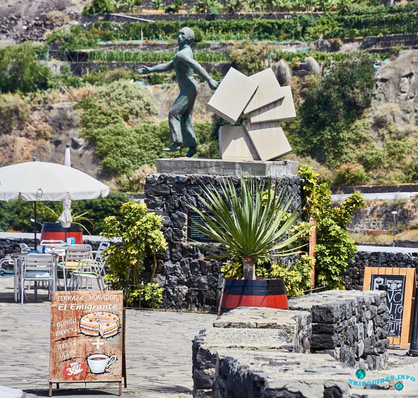 Смотровая площадка Эмигранту в городе Гарачико на севере острова Тенерифе (Канарские острова, Испания)