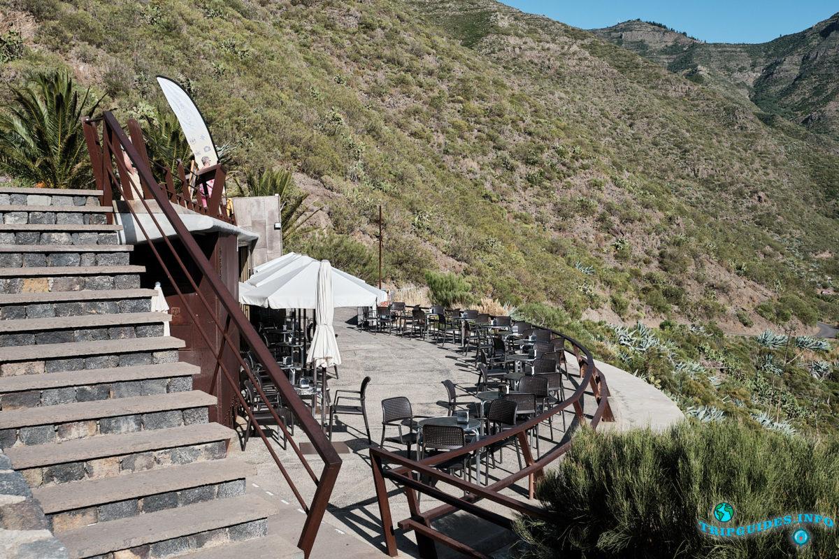 Смотровая площадка Mirador de La Cruz de Hilda в ущелье Маска на Тенерифе