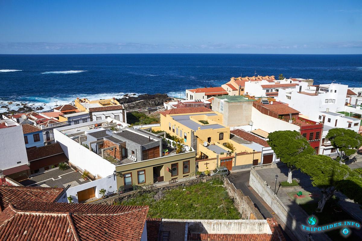 Улицы Гарачико - город на севере острова Тенерифе (Канарские острова, Испания)