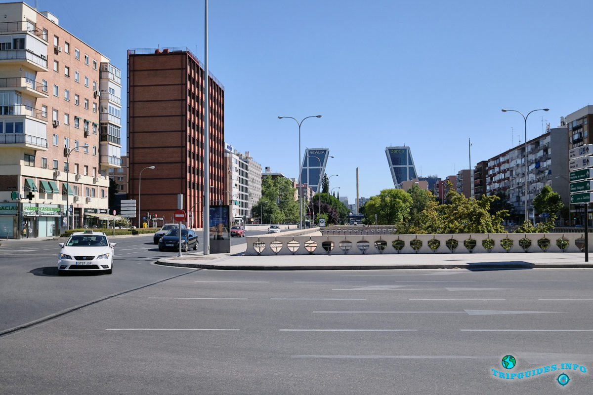 Ворота Европы в Мадриде, столица Испании - Puerta de Europa