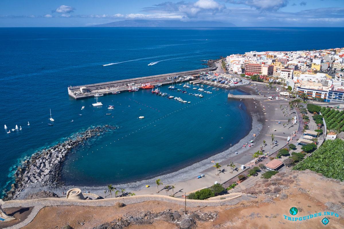 Плайя-Сан-Хуан на Тенерифе - Канарские острова, Испания