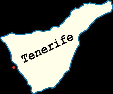Плайя-Сан-Хуан Тенерифе на карте