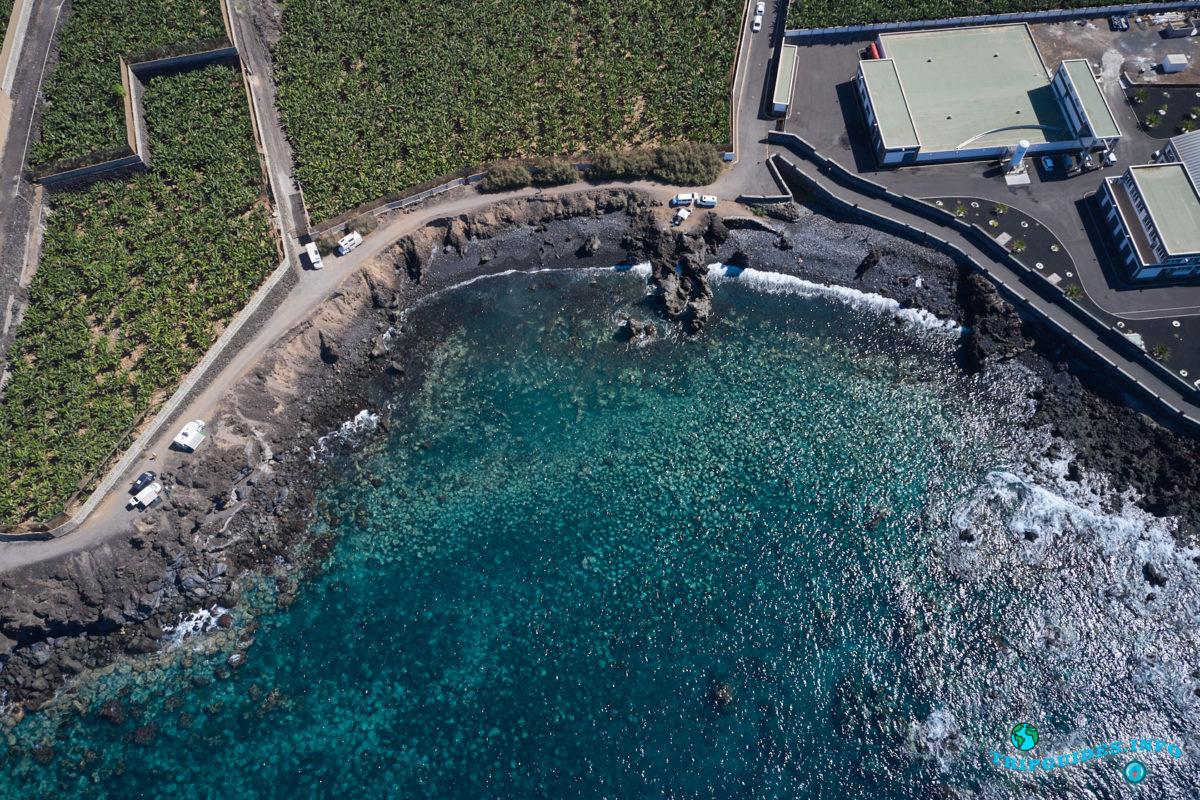 Пляж Росалия в Плайя-Сан-Хуан на Тенерифе - Канарские острова, Испания