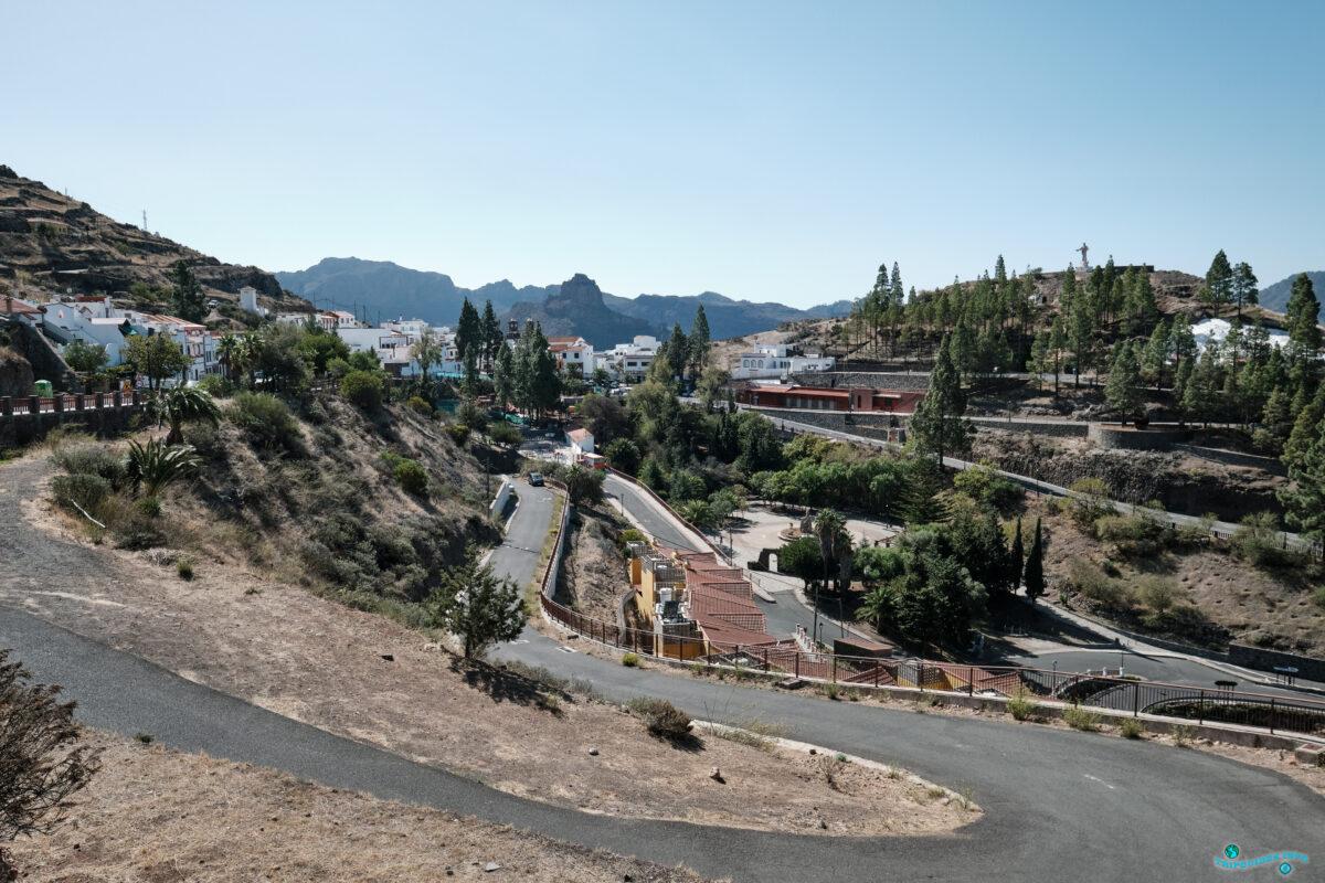 Артенара - деревня в горах острова Гран-Канария, Испания