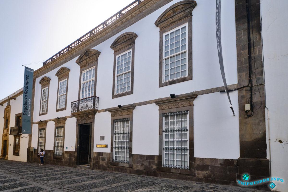 Музей Канарских островов (El Museo Canario) в районе Вегета в столице Лас-Пальмас-де-Гран-Канария