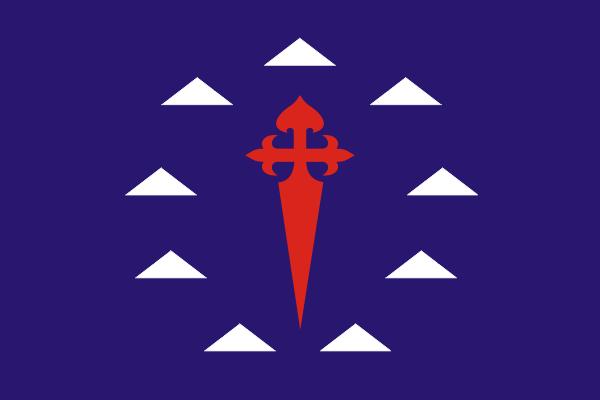 Флаг Сантьяго-дель-Тейде на Тенерифе - Канарские острова, Испания