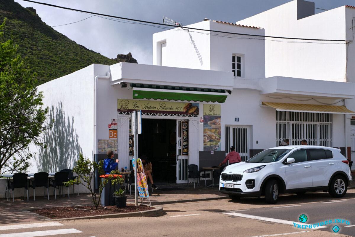 Бар Arepera kilómetro 101 в Сантьяго-дель-Тейде на Тенерифе - Испания