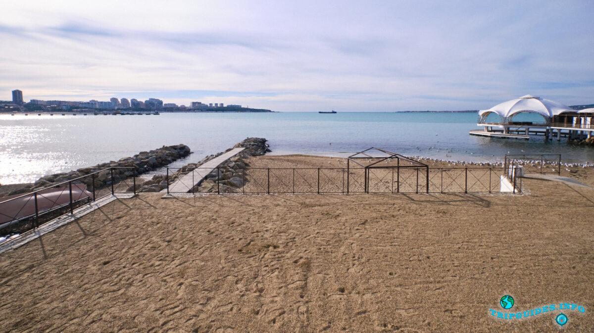 Геленджик - Чёрное море, пляжи