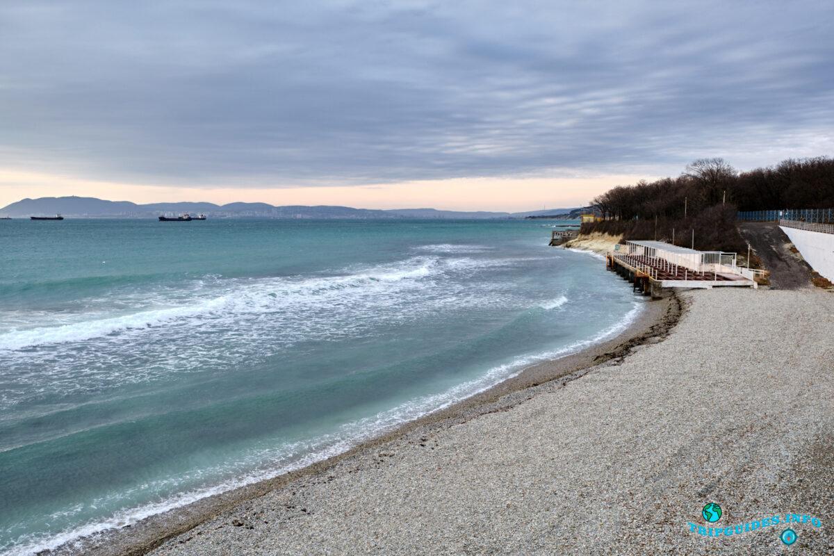 Отдых в России - Курорт Кабардинка - Пляж Сигнал