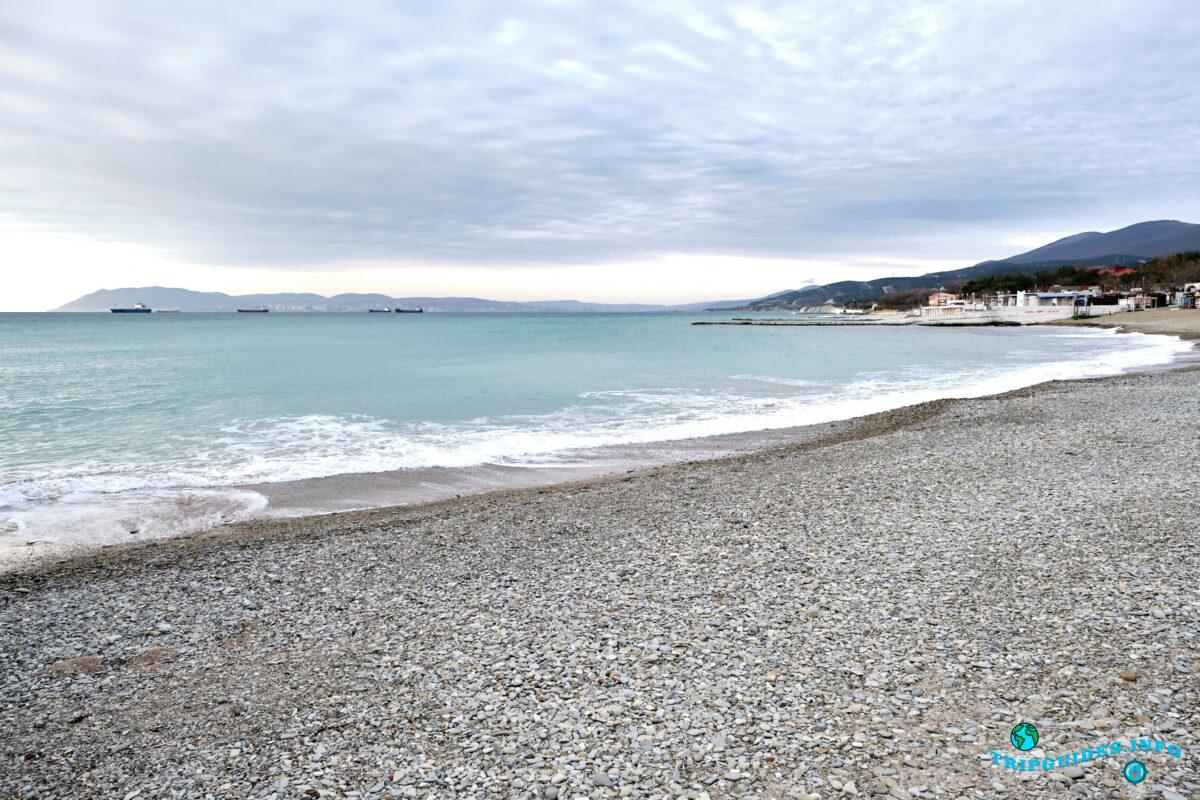 Пляжи в Кабардинке - рядом с Геленджиком