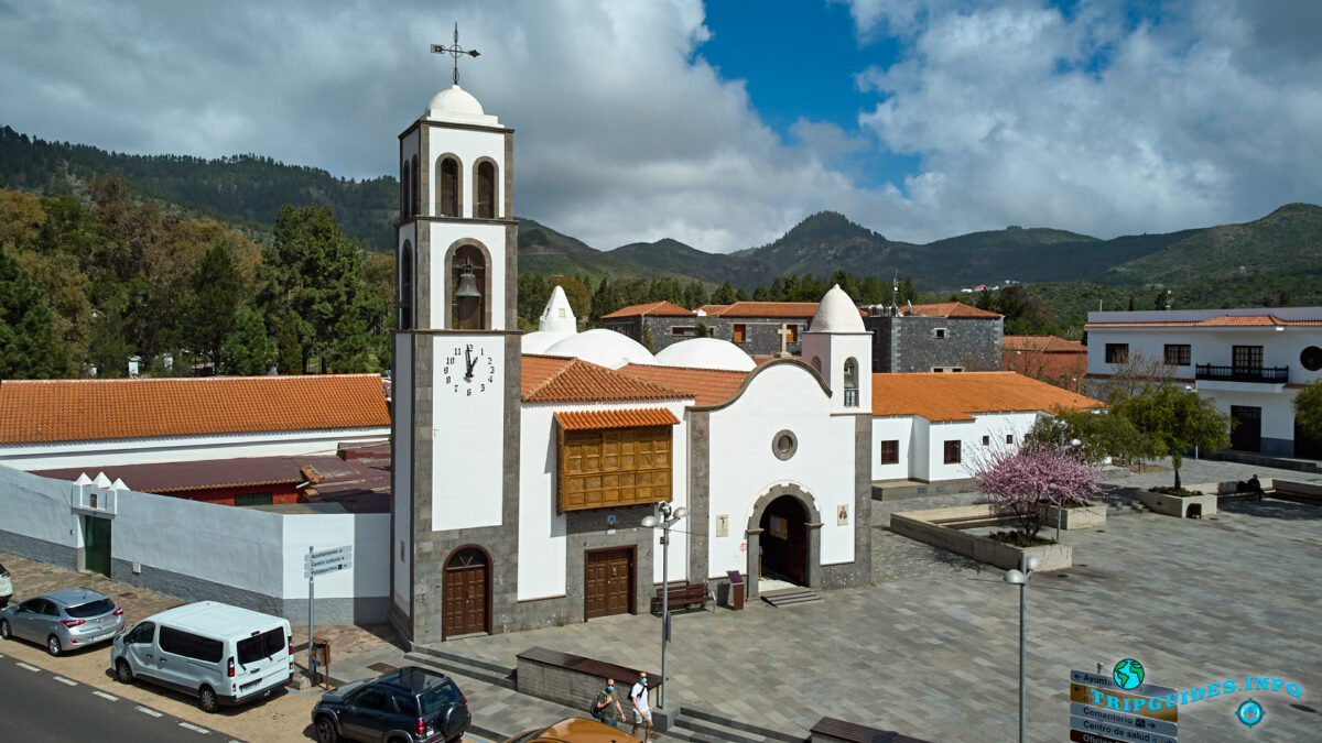 Приход Сан-Фернандо (La parroquia de San Fernando) в Сантьяго-дель-Тейде на Тенерифе - Канарские острова - Испания