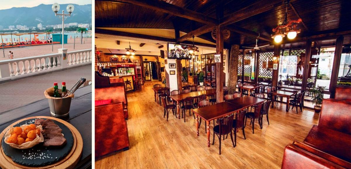 Ресторан «Saloon Western» в Геленджике, Россия