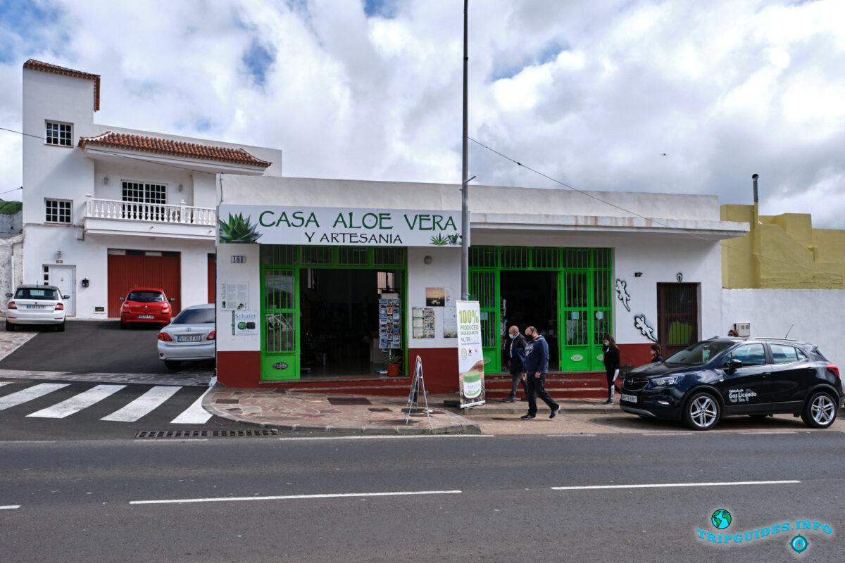 Сувениры Casa Aloe Vera y Artesania, LANZALOE в Сантьяго-дель-Тейде на Тенерифе - Испания