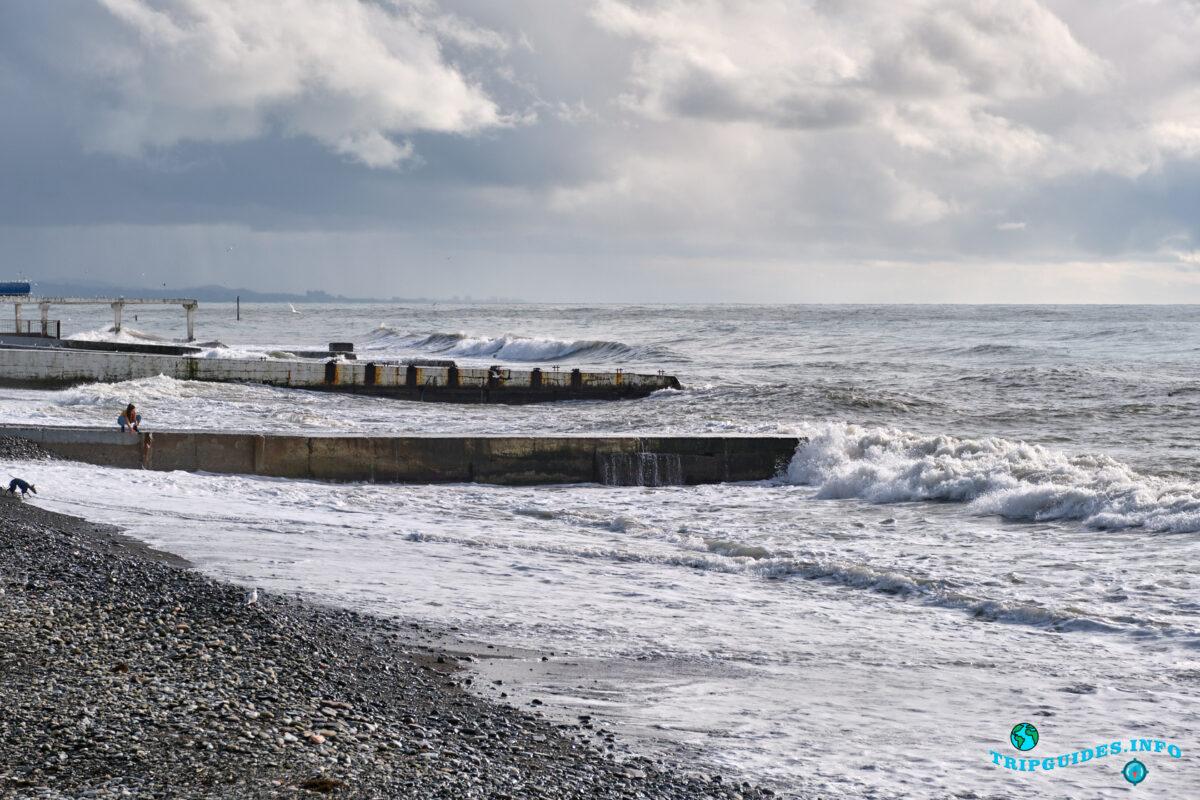 Чёрное море в Сочи - Россия