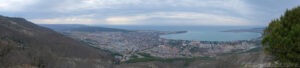 Панорамное фото - Парк Олимп в Геленджике