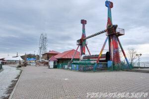 Парк аттракционов - Парк Олимп в Геленджике