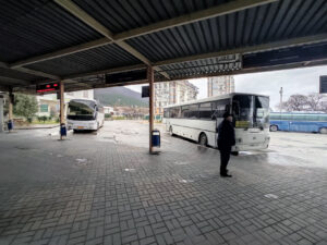 Автовокзал в Геленджике