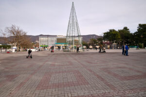 Центральная площадь - Набережная в Геленджике