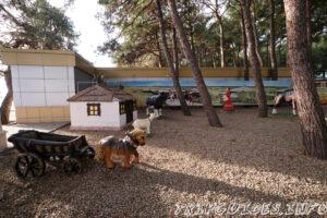Детский парк в северной части возле Солнечного причала - Набережная в Геленджике