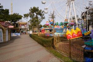 Парк аттракционов в Геленджике