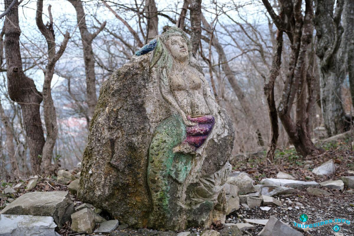 Русалка - Верхний парк Сафари-парка Геленджик