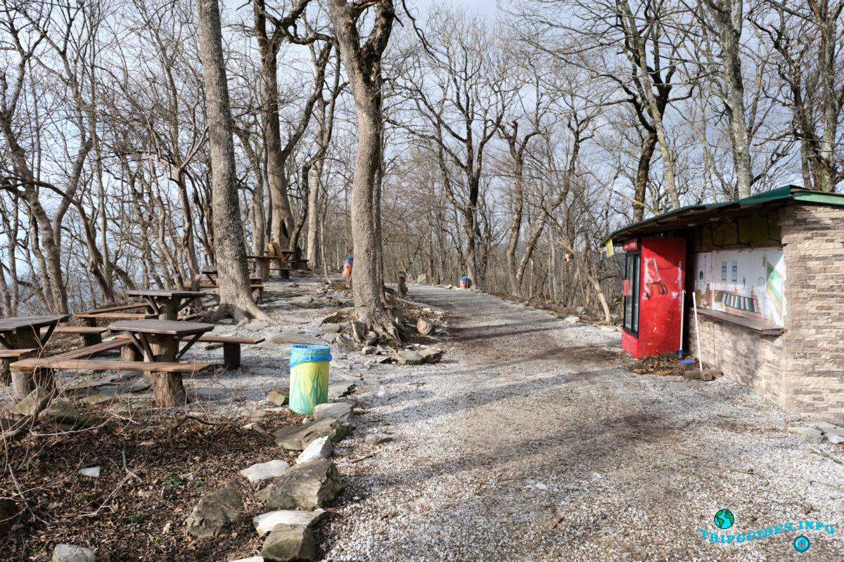 Место для отдыха - Аллея сказок в Верхнем парке Сафари-парка Геленджик