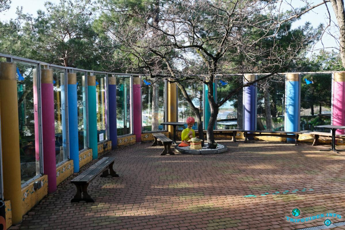 Территория зоопарка Сафари-парк Геленджик